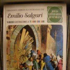 Tebeos: JOYAS LITERARIAS JUVENILES. EMILIO SALGARI. EDICIONES B, 2008. Lote 16457265