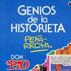 Tebeos: GENIOS DE LA HISTORIETA Nº 2 (DON PIO, PEÑARROYA) EDITORIAL BRUGUERA, 1985. Lote 16511976