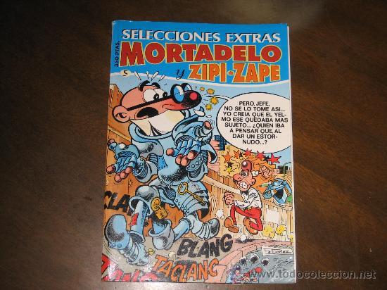 SELECCIONES EXTRA MORTADELO Y ZIPI-ZAPE (Tebeos y Comics - Bruguera - Mortadelo)