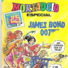 Tebeos: MORTADELO ESPECIAL JAMES BOND 007 - MORTADELO 25 ANIVERSARIO PAGIANS ESPECIALES BOND. Lote 17811935