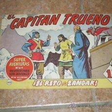 Tebeos: COMIC CAPITAN TRUENO (APAISADO) AÑO 62 . Lote 36696816