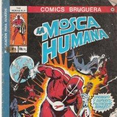 Tebeos: LA MOSCA HUMANA Nº 1 - COMICS BRUGUERA 9 -. Lote 16975507