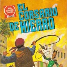 Tebeos: EL CORSARIO DE HIERRO SERIE ROJA (BRUGUERA) 1980-1981 LOTE. Lote 28697822