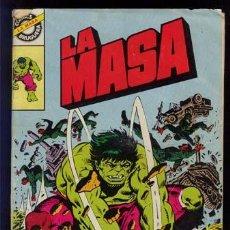 Tebeos: LA MASA / COMICS BRUGUERA Nº 15 / 1981. Lote 25797149