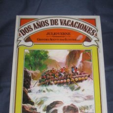 Tebeos: QUEX LIBROS - COMICS - BRUGUERA - LIBRO DOS AÑOS DE VACACIONES DE JULIO VERNE. Lote 17024814