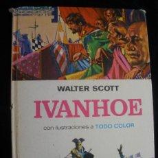 Tebeos: IVANHOE. WALTER SCOTT. EDITORIAL BRUGUERA. TAPA DURA. Lote 21892594