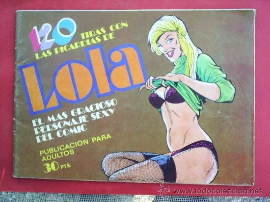 120 TIRAS CON PICARDIAS DE LOLA N.16 - EDITORIAL BRUGUERA 1976 (Tebeos y Comics - Bruguera - Cuadernillos Varios)