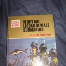 Tebeos: QUEX COMICS - TEBEOS - LIBROS - 20000 LEGUAS DE VIAJE SUBMARINO JULIO VERNE. Lote 18451202