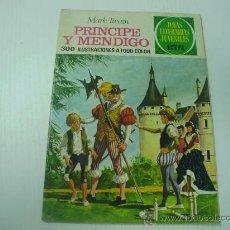 Tebeos: PRINCIPE Y MENDIGO - JOYAS LITERARIAS JUVENILES Nº 32 - BRUGUERA. Lote 21074600