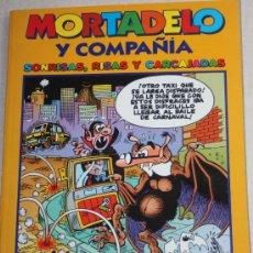 Tebeos: MORTADELO Y COMPAÑÍA Nº3: SONRISAS; RISAS Y CARCAJADAS (204 PÁGINAS) . Lote 24886267