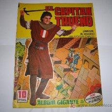 Tebeos: CAPITAN TRUENO ALBUM GIGANTE Nº 35 ORIGINAL. Lote 25803003