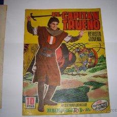 Tebeos: CAPITAN TRUENO ALBUM GIGANTE Nº 51 ORIGINAL. Lote 25803011