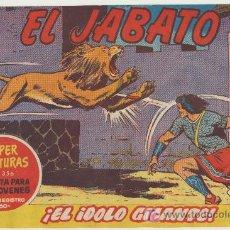 Tebeos: EL JABATO Nº 108. BRUGUERA 1958.. Lote 17562157