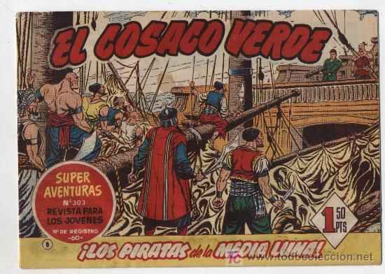 EL COSACO VERDE Nº 8 (Tebeos y Comics - Bruguera - Cosaco Verde)