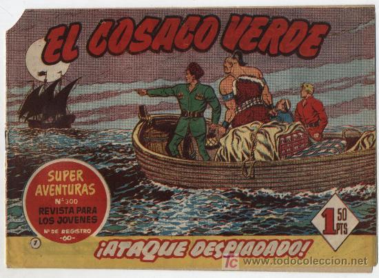 EL COSACO VERDE Nº 7 (Tebeos y Comics - Bruguera - Cosaco Verde)