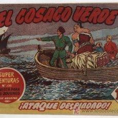 Tebeos: EL COSACO VERDE Nº 7. Lote 17647193
