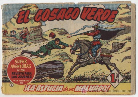 EL COSACO VERDE Nº 3 (Tebeos y Comics - Bruguera - Cosaco Verde)