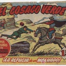 Tebeos: EL COSACO VERDE Nº 3. Lote 17647549
