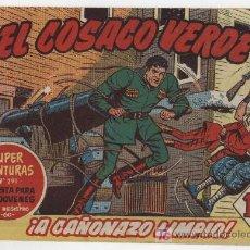 Tebeos: EL COSACO VERDE Nº 4. Lote 17647726
