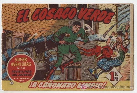 EL COSACO VERDE Nº 4 (Tebeos y Comics - Bruguera - Cosaco Verde)