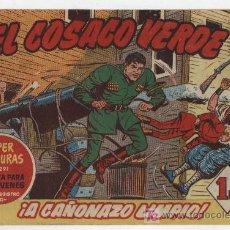 Tebeos: EL COSACO VERDE Nº 4. Lote 17647764