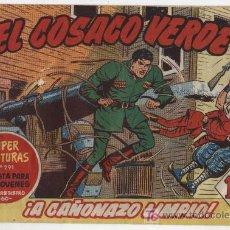 Tebeos: EL COSACO VERDE Nº 4. Lote 17647782