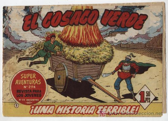 EL COSACO VERDE Nº 5 (Tebeos y Comics - Bruguera - Cosaco Verde)