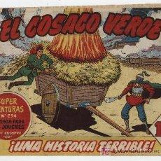 Tebeos: EL COSACO VERDE Nº 5. Lote 17647824