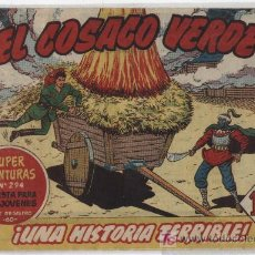 Tebeos: EL COSACO VERDE Nº 5. Lote 17649907