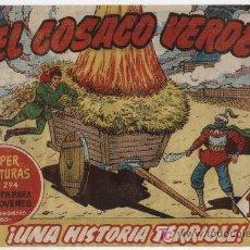 Tebeos: EL COSACO VERDE Nº 5. Lote 17649925