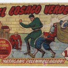 Tebeos: EL COSACO VERDE Nº 6. Lote 17649949