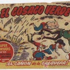 Tebeos: EL COSACO VERDE Nº 81. Lote 17657744