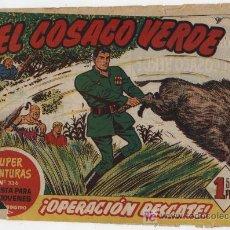 Tebeos: EL COSACO VERDE Nº 19.. Lote 17657901
