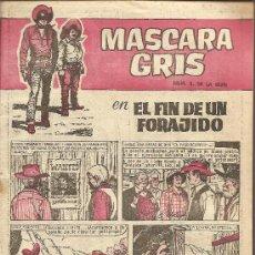 Tebeos: MASCARA GRIS Nº 5 CUADERNOS HEROES EDITORIAL BRUGUERA. Lote 25988562