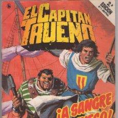 Tebeos: LOTE DE COMICS: EL CAPITAN TRUENO DEL 1 AL 16 E.D 2º EN AÑO 1989. Lote 25962352