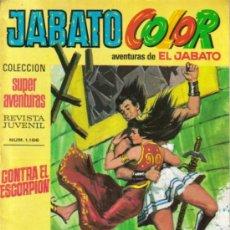 Tebeos: JABATO COLOR SEGUNDA EPOCA (BRUGUERA ) LOTE. Lote 26852330