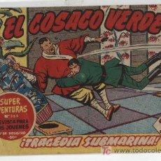 Tebeos: EL COSACO VERDE Nº 29. BRUGUERA 1960.. Lote 17800145