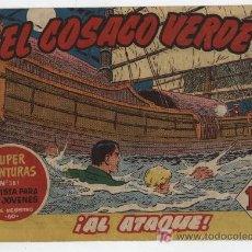 Tebeos: EL COSACO VERDE Nº 34. BRUGUERA 1960.. Lote 17800192