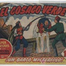 Tebeos: EL COSACO VERDE Nº 40. BRUGUERA 1960.. Lote 17800228