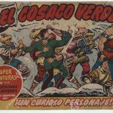 Tebeos: EL COSACO VERDE Nº 57. BRUGUERA 1960.. Lote 17800430