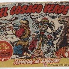 Tebeos: EL COSACO VERDE Nº 58. BRUGUERA 1960.. Lote 17800469