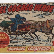 Tebeos: EL COSACO VERDE Nº 59. BRUGUERA 1960.. Lote 17800487