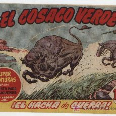 Tebeos: EL COSACO VERDE Nº 75. BRUGUERA 1960.. Lote 17800577