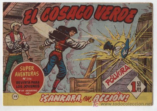 EL COSACO VERDE Nº 79. BRUGUERA 1960. (Tebeos y Comics - Bruguera - Cosaco Verde)