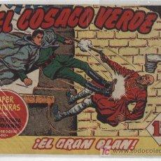 Tebeos: EL COSACO VERDE Nº 12. BRUGUERA 1960.. Lote 17855398
