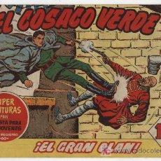 Tebeos: EL COSACO VERDE Nº 12. BRUGUERA 1960.. Lote 17855412
