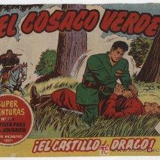 Tebeos: EL COSACO VERDE Nº 22. BRUGUERA 1960.. Lote 17855471