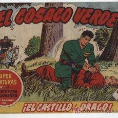 Tebeos: EL COSACO VERDE Nº 22. BRUGUERA 1960.. Lote 17855549