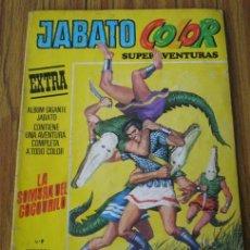 Tebeos: JABATO .. LA SOMBRA DEL COCODRILO ..Nº 9 .. 1978 – 3ª EPOCA. Lote 17802319