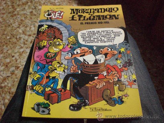 TEBEO OLE Nº 4.- MORTADELO Y FILEMON.- EL PREMIO NO-VEL.- (Tebeos y Comics - Bruguera - Ole)